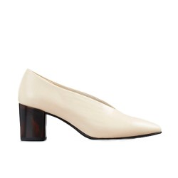 Vagabond Eve court shoe-Toffee