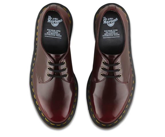 Dr Martens 1461 Cherry Red Vegan