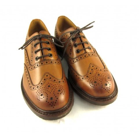 Loake Edward Brogue Tan Leather