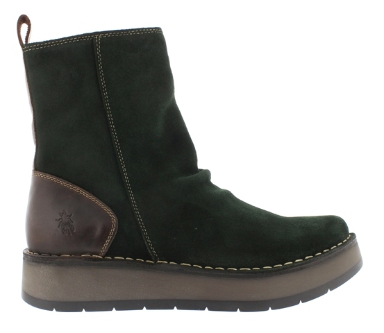 Fly London Reno Boot - Green