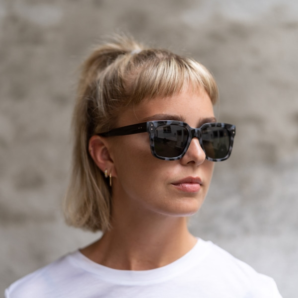 A.Kjaerbede Sunglasses - Fancy (Black Tortoise Shell)