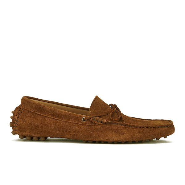 H by Hudson Ricardo Tan Suede Loafer