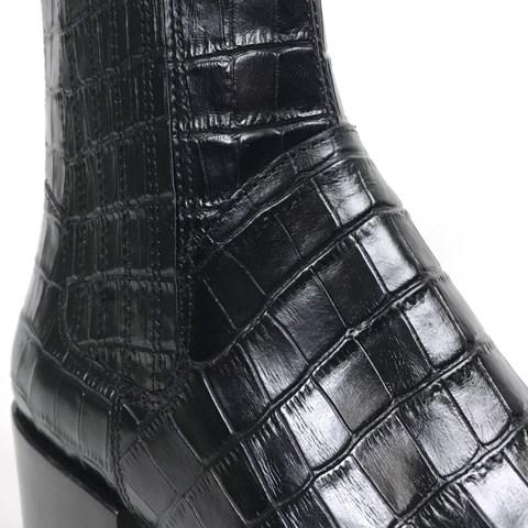 Vagabond Marja Croc Boot - Black