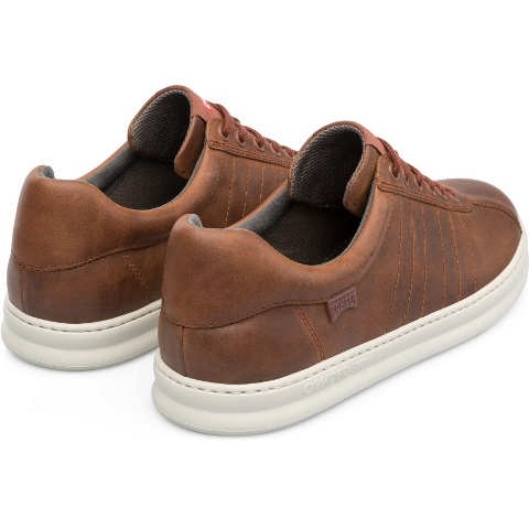 Camper Runner Four Trainer - Brown Leather