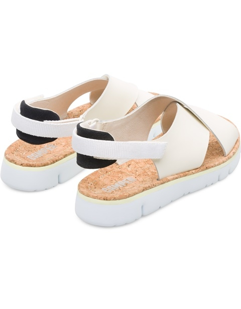 Camper Oruga Crossover Sandal - Cream