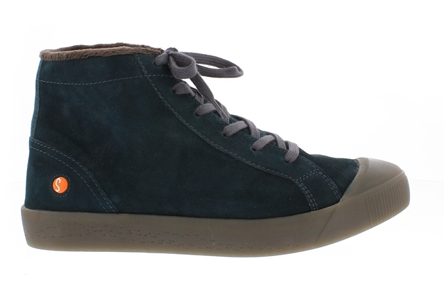 Softinos Kip High Top - Petrol suede