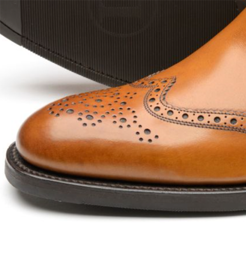 Loake Hoskins Brogue Chelsea boot