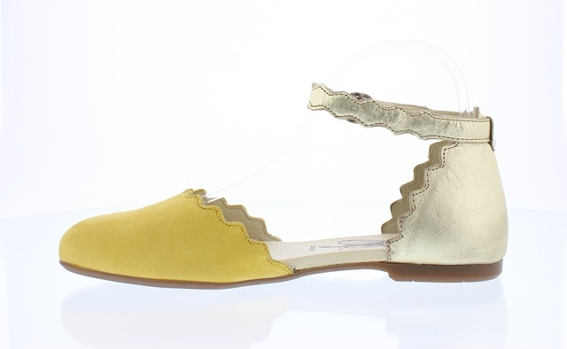Fly London Megs - Yellow/Gold