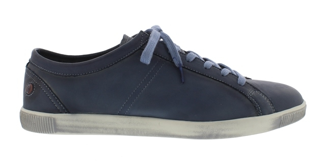 Softinos Tom leather trainer-Navy