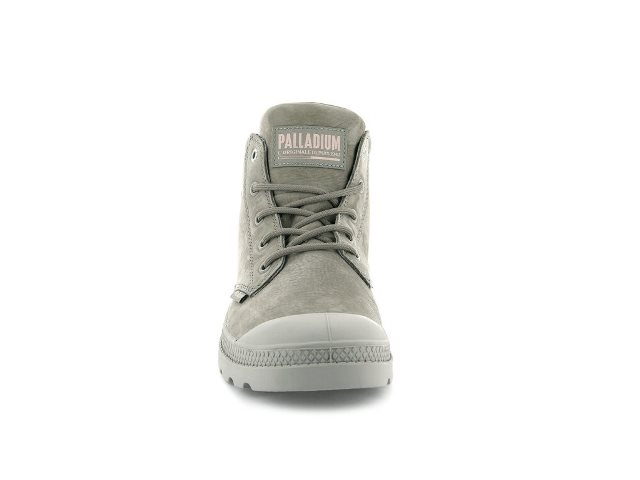 Palladium Pampa Lo cuff boot- Moonrock