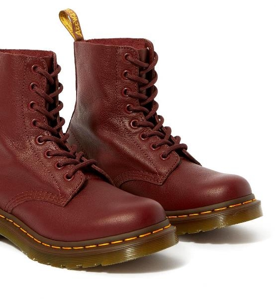 Dr Martens 1460 Pascal - Cherry Red Virginia