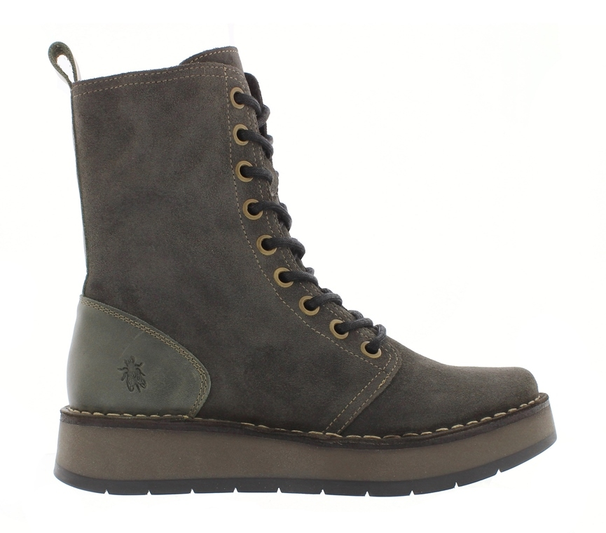 Fly London Rami Boot - Diesel Suede