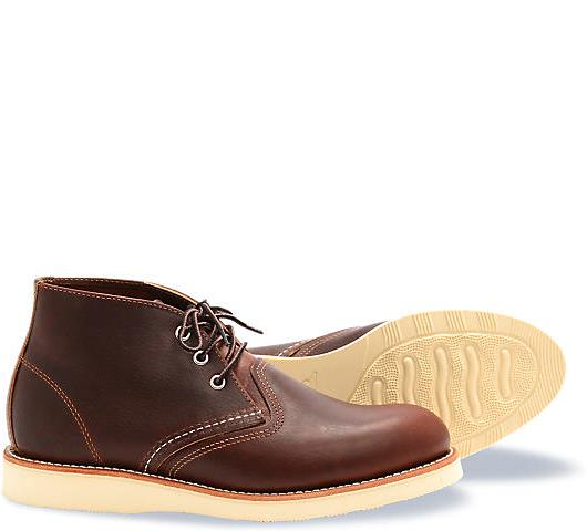 Red Wing Heritage Chukka Boot Briar 3141