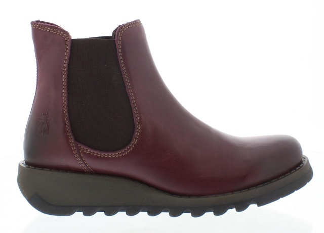 Fly London Women's Salv in Purple Rug Leather