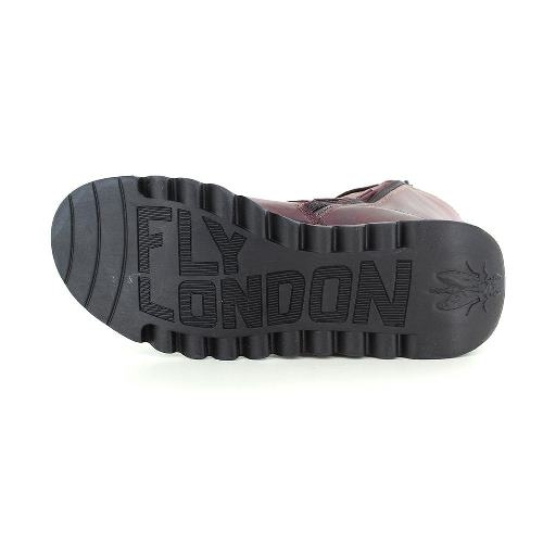 FLY London SCOP Mid Calf Boot - Purple