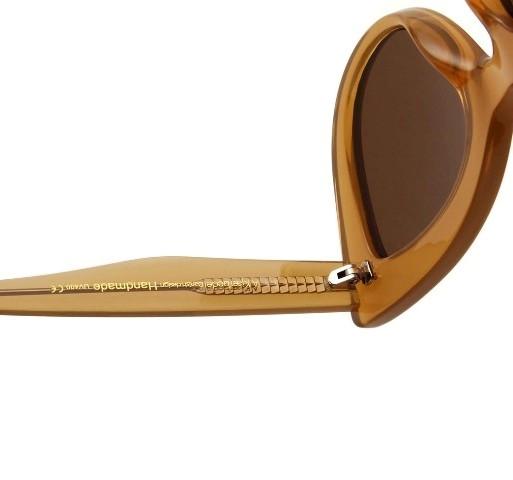 A.Kjaerbede Sunglasses - Stella (Light Brown Transparent)