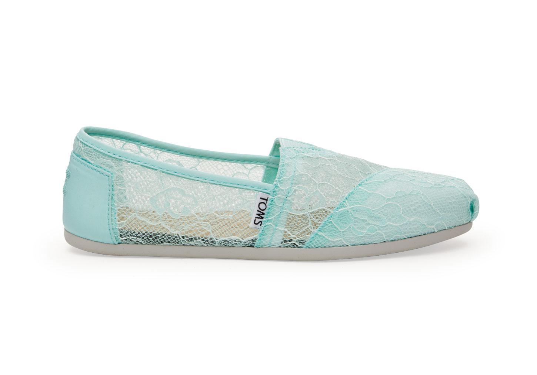 Description. Toms Women s Classic Mint Lace 10005003 20a478387